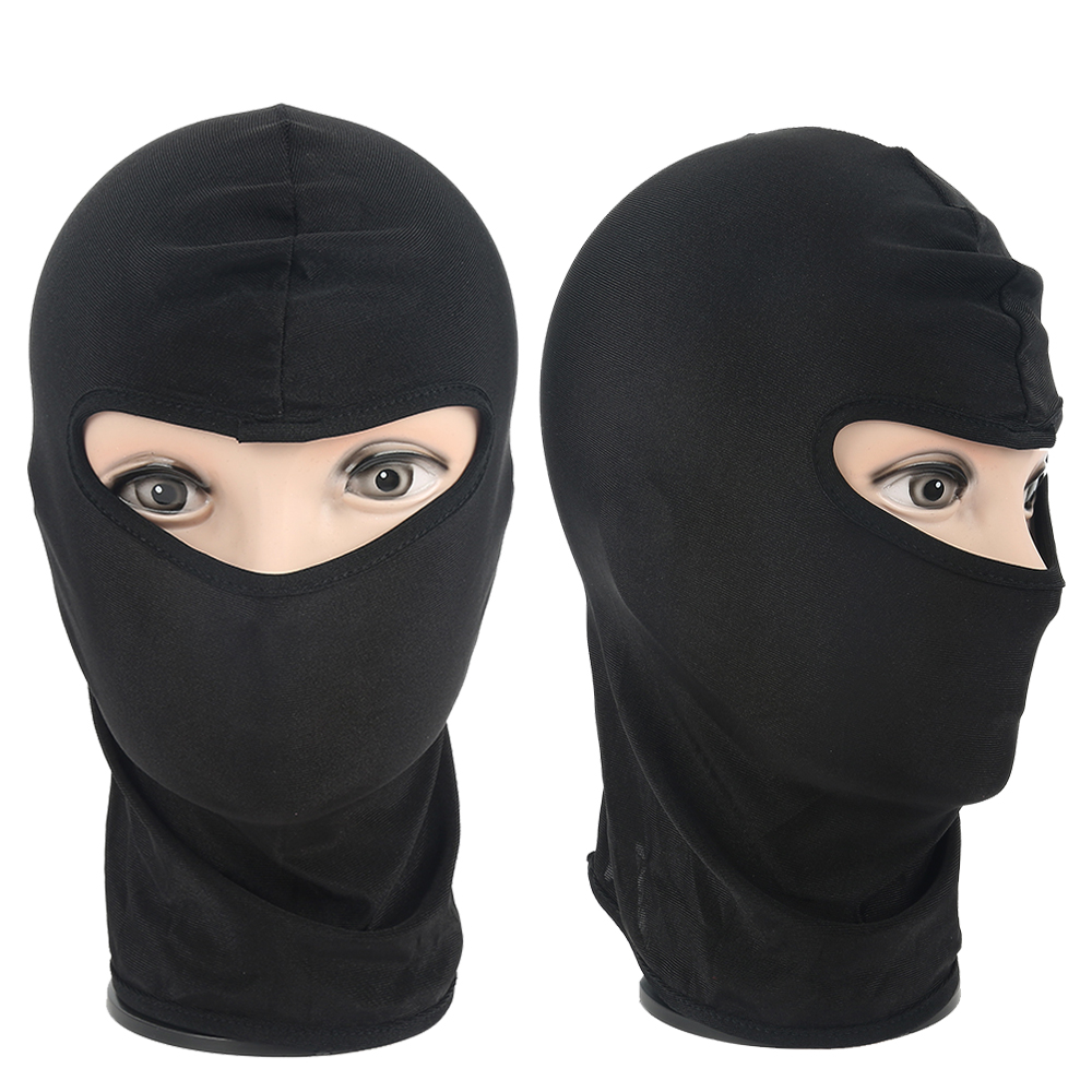 Hot Sele Motorcycle Face Mask Cycling Ski Neck Protecting Outdoor Balaclava Full Face Mask Ultra Thin Breathable Windproof Mask Apparel Accessories