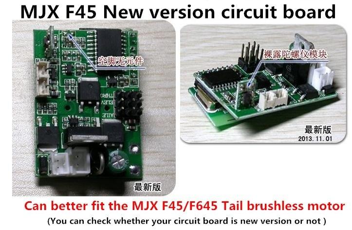 2014 New Version Circuit Board Mjx, F645,F45 Remote