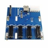 PCI E To PCIe Riser Card 4PIN USB3 0 PCI E 1 To 4 PCIe Adapter