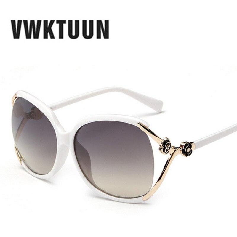 vwktuun oversized sunglasses women brand designer flower frame direction sun glasses for women mirrored glasses uv400 oculos