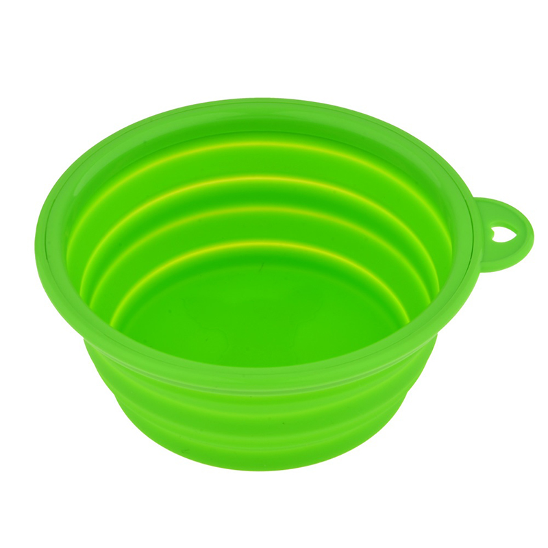 1pc Folding Silicone Dog Bowl Outfit Portable Travel Bowl For Dog Feeder Utensils Small Mudium Dog Bowls Pet Tools #3