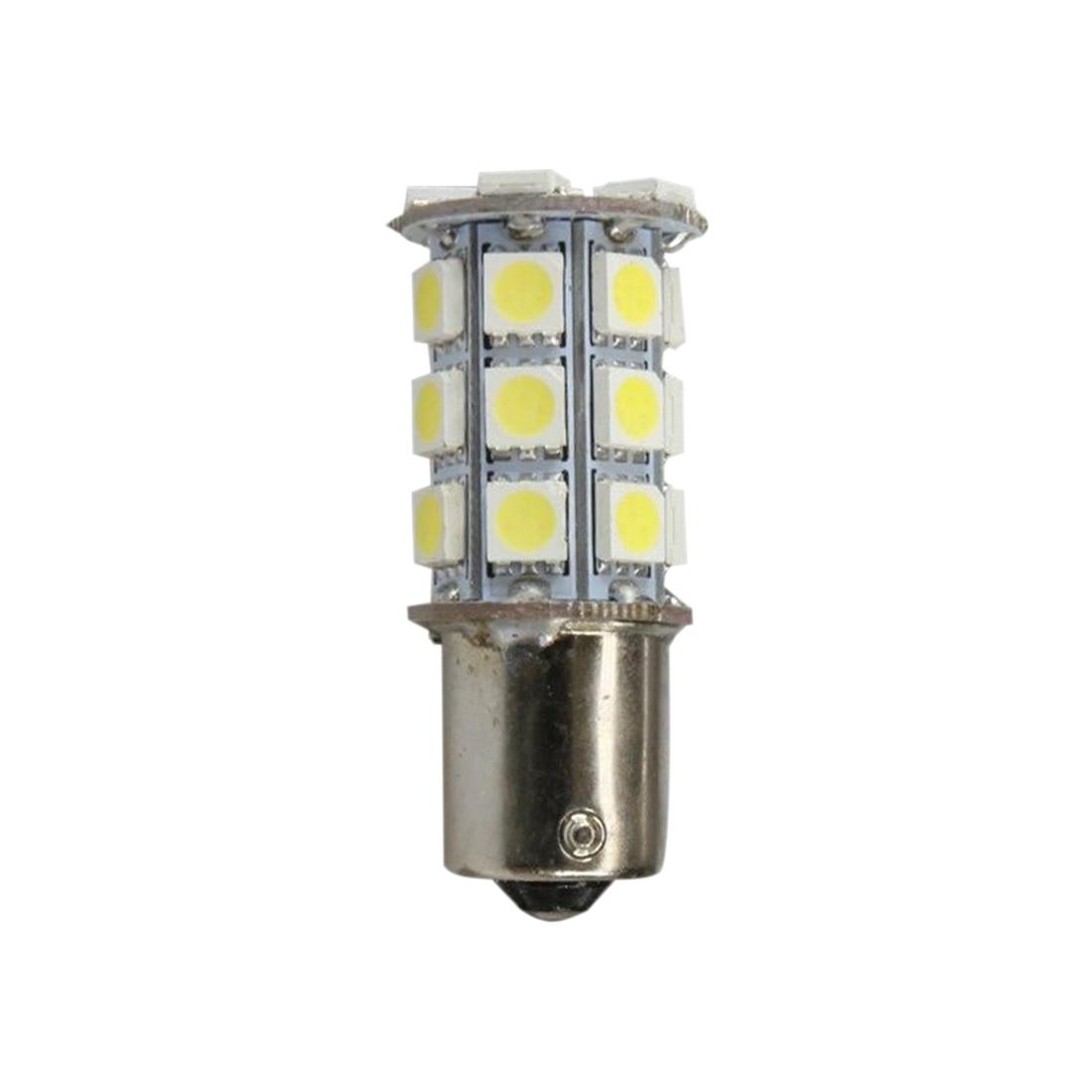 20 X Warm White 27 SMD LED 1156 1141 1003 RV Camper Trailer Light Bulbs