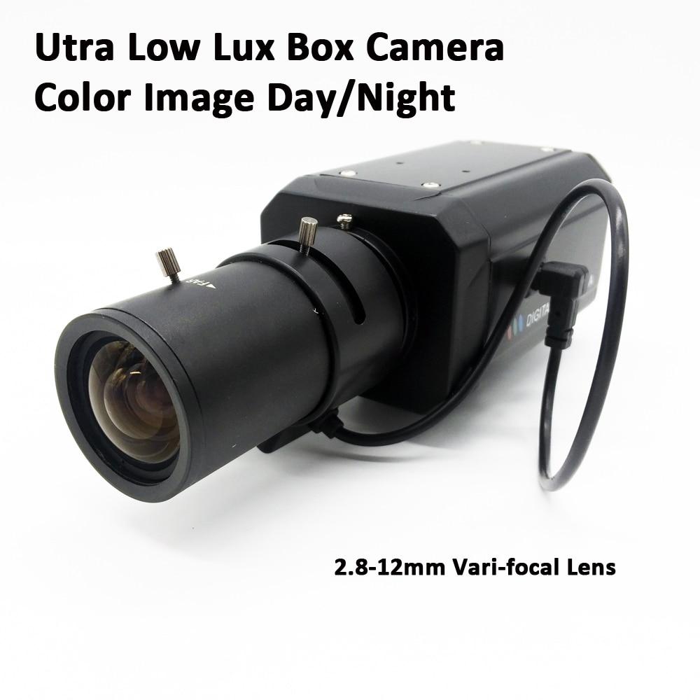 Analog 700TVLines high resolution 2 8 12mm Varifocal lens Super low light Sony Super HAD CCD
