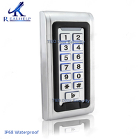 2000Users IP68 Waterproof LED Keypad Metal Access Control Wiegand 26 RIFD card reader Door Access 12V and 24V DC