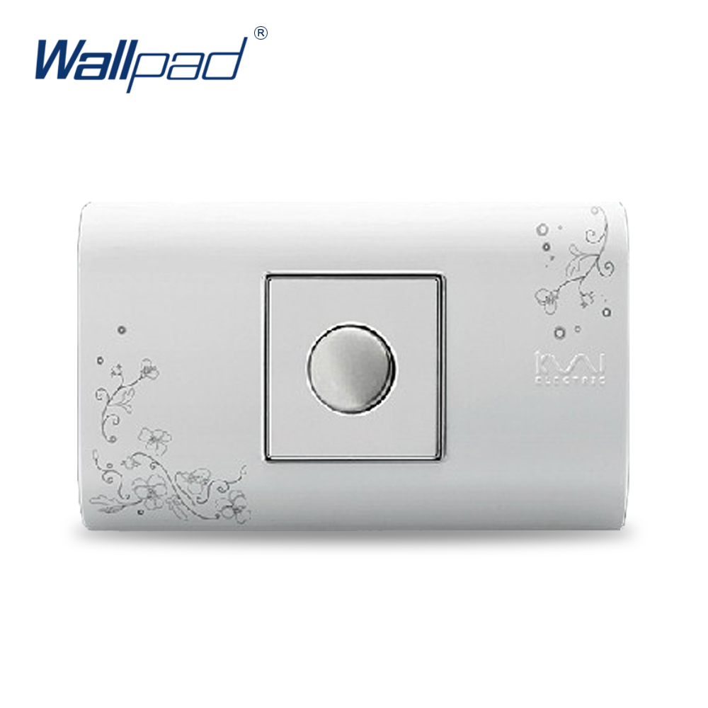 2018 Hot Sale Touch Delay Switch Wallpad Luxury Wall Switch Panel Plug Socket 118*72mm 10A 110~250V free shipping wallpad luxury wall switch panel doorbell switch x6 series 10a 86 86mm 110 250v