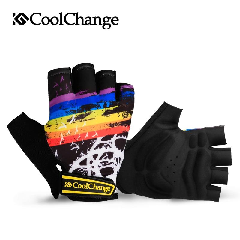 Coolchange Biciklističke rukavice Pola prsta Muškarci Žene Ljeto - Biciklizam - Foto 2