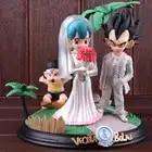 Фигурка Вегета и булма в виде Dragon Ball, Статуэтка из ПВХ, статуя Dragon Ball, Коллекционная модель, набор игрушек
