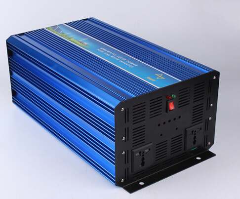 4000W DC12V/24Vinput to AC 110V/220V Pure Sine Wave Inverter Off Grid Solar& Wind Power Inverter, Surge Power 8000W PV Inverter 3000w wind solar hybrid off grid inverter dc to ac 12v 24v 110v 220v 3kw pure sine wave inverter