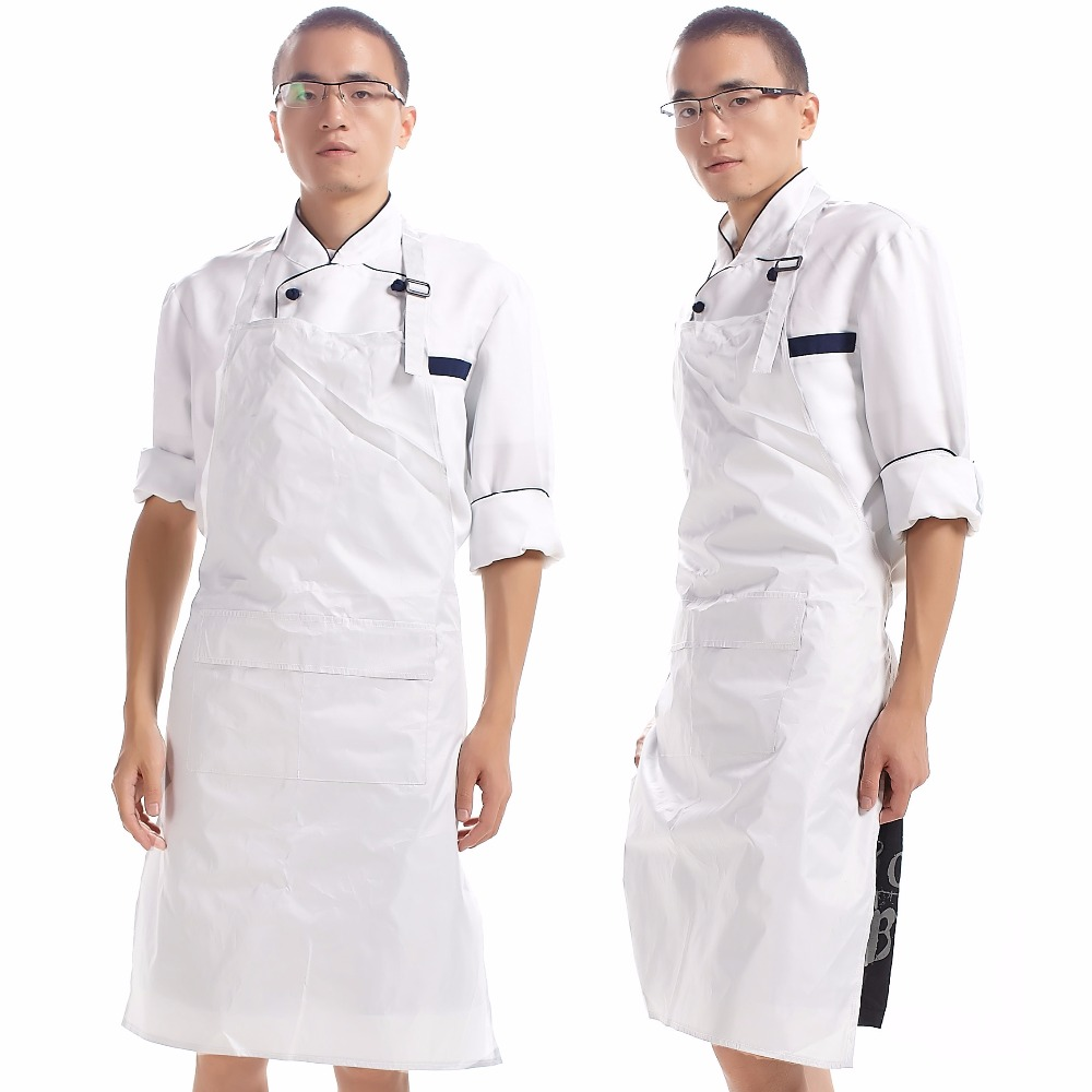 White apron health - New 2016 Men Kitchen Apron Pvc Waterproof Cooking Adult Paron Cheap Kitchen Tools Funny