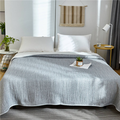 2019 Summer Cotton Air Conditioning Quilt Comforter Blanket Full Queen King Dotiki Throws Bedspread Plaids Patchwork Bed Covers