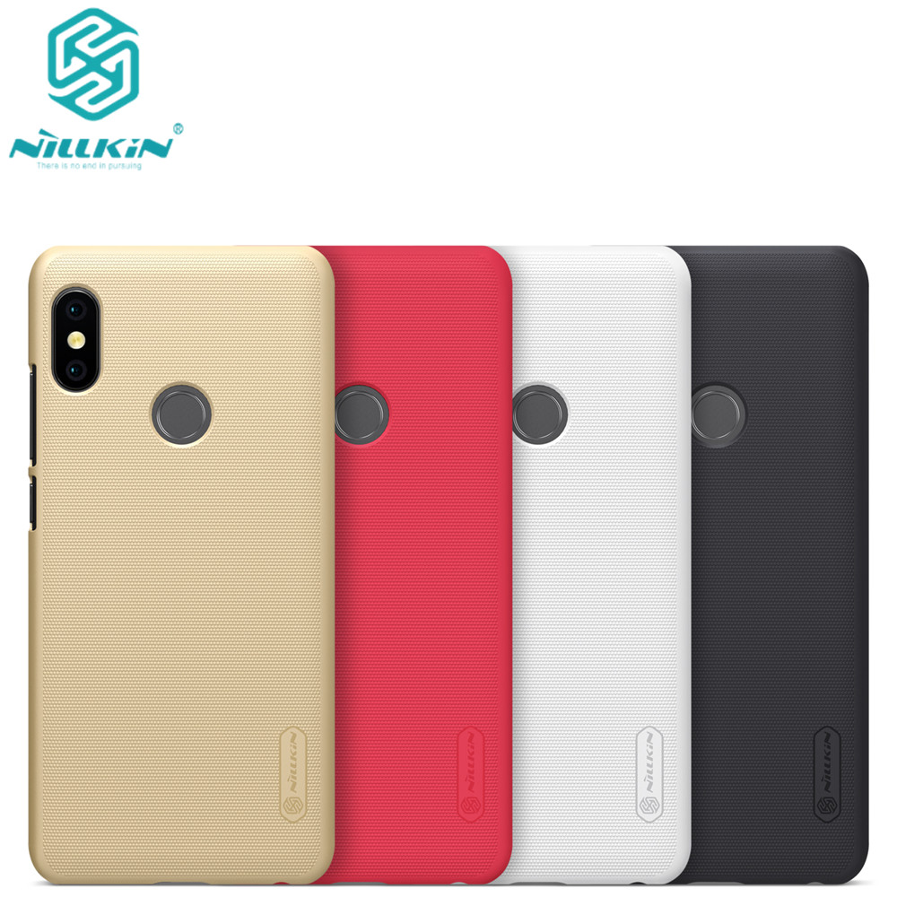 For xiaomi redmi note 5 Case Nillkin Frosted PC Hard Back Cover Case for redmi note 5 pro prime with gift