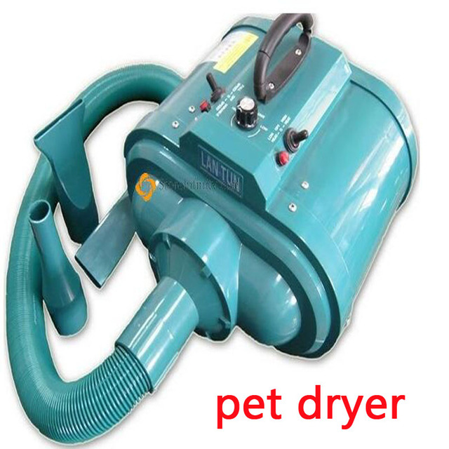 1pc  Double Motors 500W-3600W 220V Innovative Superpower Grooming Pet Dog Hair Dryer LT1090D-H
