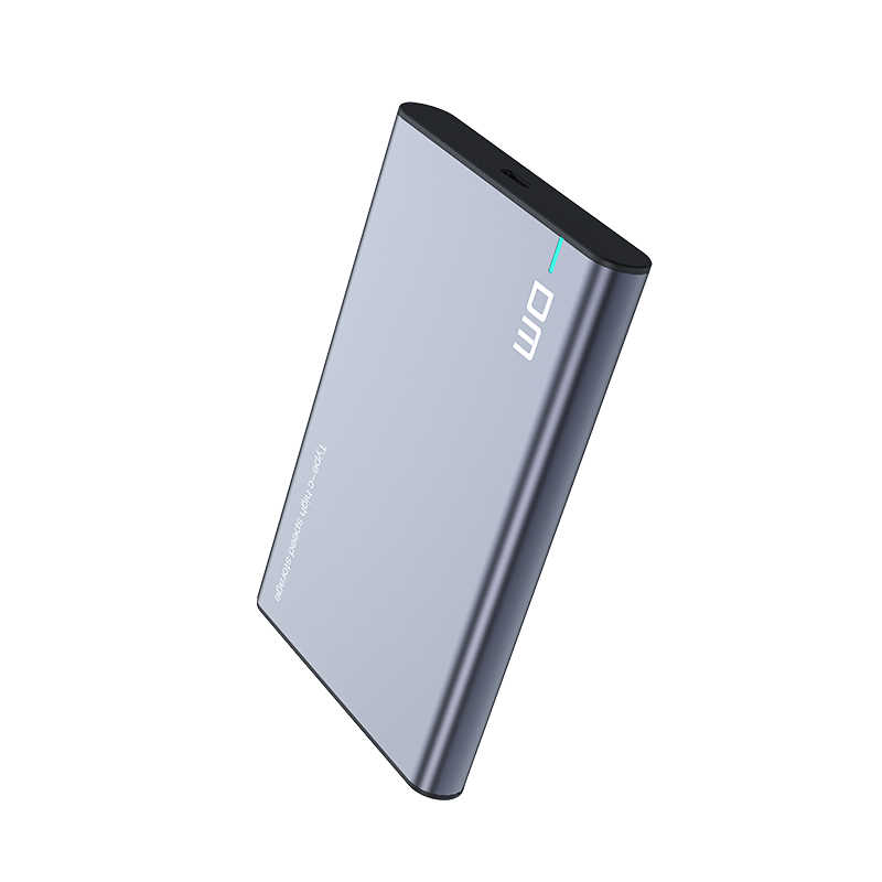 DM HDD Case 2.5 Inci SATA Ke USB 3.1 Tipe C Gen 2 Case Alat Gratis untuk Samsung Seagate SSD 4TB Hard Disk Kotak Eksternal HDD En