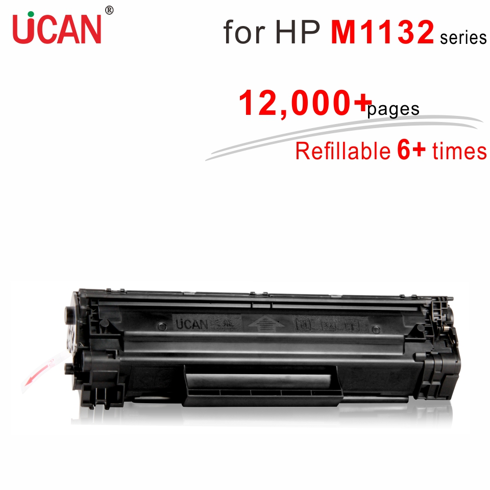 6 times Super Durable 85a CE285a Toner Cartridges for hp laserjet P1130 P1132 M1134 M1136 M1138 M1139 Printer