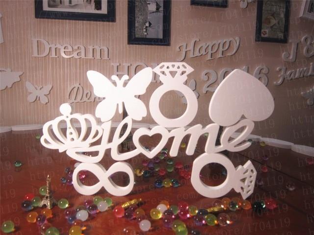 2016 Popular Artificial Wood Letter Alphabet Wedding Decorative