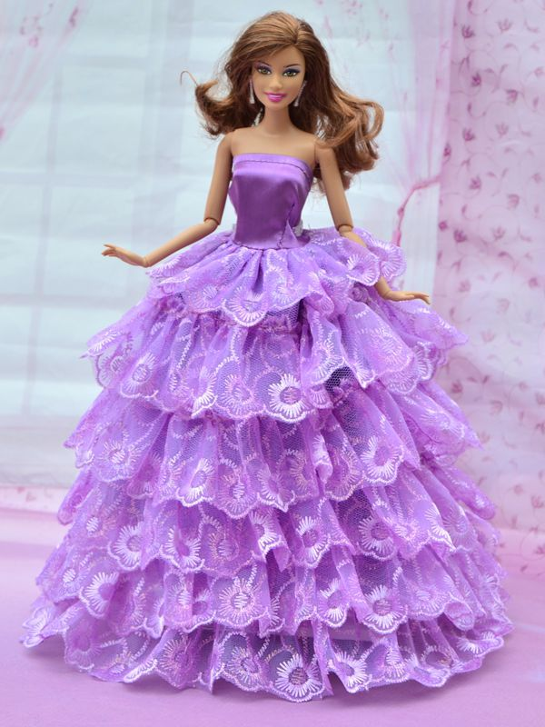 New handmade 2015 beautiful doll clothes, for barbie doll ...