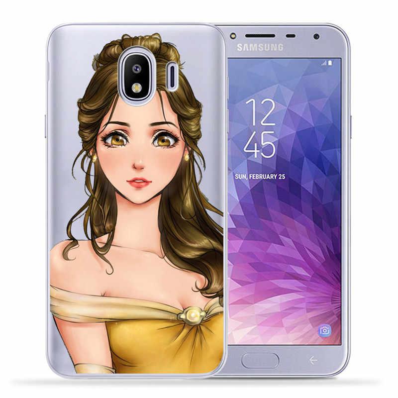 Luxe Reine Princesse Pour Samsung Galaxy J3 J4 J5 J6 J7 J8 Plus 2016 2017 2018 J2 Premier housse de téléphone En Silicone Coque Etui
