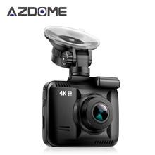 Azdome GS63H 2160 P 4 К Видеорегистраторы для автомобилей Камера с Wi-Fi 2.4 дюймов Новатэк 96660 видео Регистраторы встроенный GPS авто видеокамера регистраторы H28