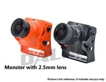 Potwór Foxeer FPV Kamera 1200TVL HD IR HS1194 Bloku PAL/NTSC 2.5mm obiektyw Dla FPV Quadcopter Mini Drone QAV-X Marsa 230 QAV R