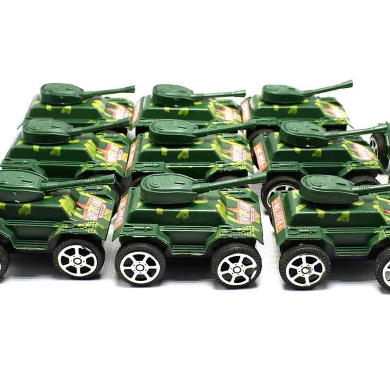 2018 Novo Tanque de Plástico Brinquedos para o Menino Crianças Puxar Para Trás Tanque Blindado Carro de Brinquedo Carros Modelo Brinquedos para Crianças Pequenas presente