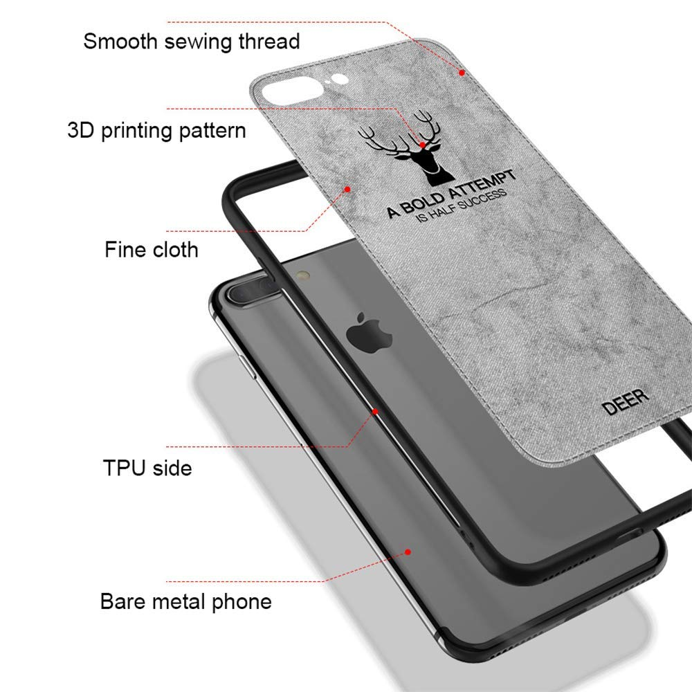 Cellphones & Telecommunications Nyfundas Case For Iphone Xs Max Case Cloth Deer Soft Coque For Iphone Xr Xs X 7 8 6 6s Plus 10 Cover Back For Iphonexsmax Fundas Fitted Cases