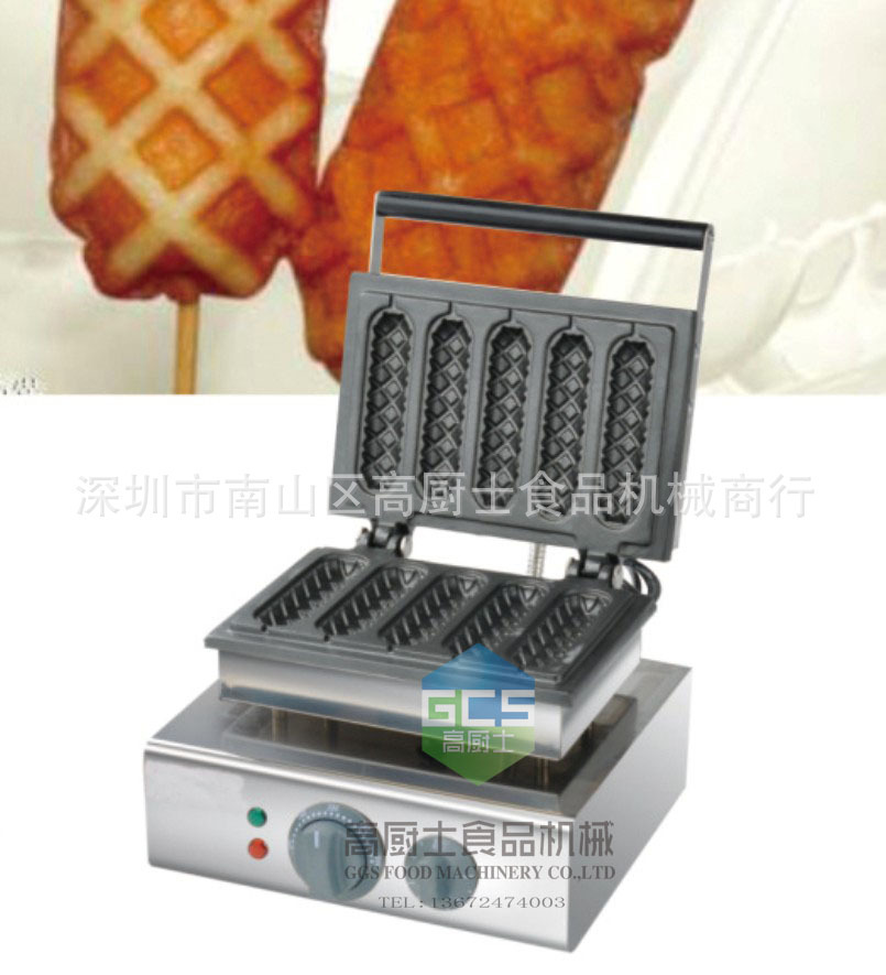 Free shipping  220v cheap price hgh quality Automatic lolly waffle maker machine цены онлайн