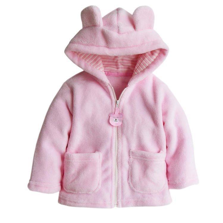 Winter Animal baby shapes baby fleece baby clothes white / pink / brown baby coat pajamas newborn plush costume overalls coat