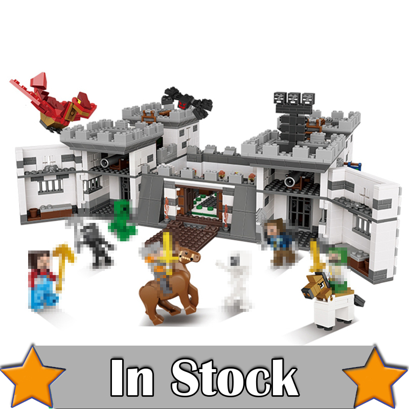 NEW XINGBAO 09005 1627Pcs Blocks Series The Castle of Holy War Set Educational Building Blocks Bricks Boy Toys Model Gifts enlighten new 2306 building block war of glory castle knights lord of sky 2 figures 290pcs educational bricks toy boy gift