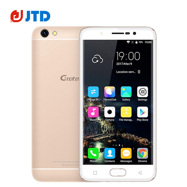 Original GRETEL A9 Smartphone MT6737 2GB RAM 16GB ROM 5.0'' Quad Core Android 6.0 8MP Loud Speaker 2300mAh GPS 4G LTE Cellphone