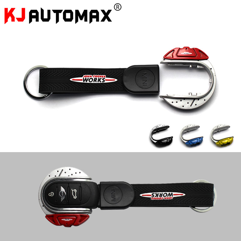 For Mini Cooper Key Fob Cover Case F54 F55 F56 F57 F60 Keychain Car Styling Accessories