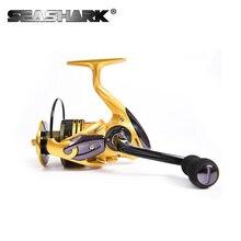 SEASHARK  Spinning Reel Fishing Reel Max 9KG 1000-7000 Series For Carp Fishing Sea Fishing Spinning Carretilha Reels