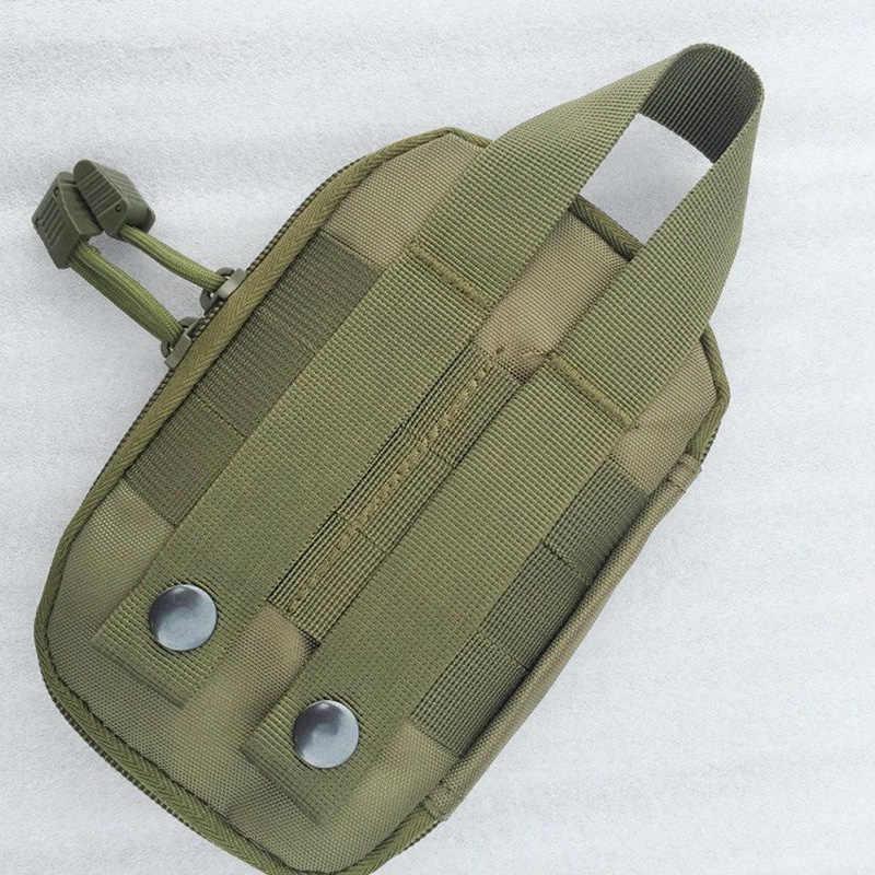 1000D ナイロン戦術的なバッグ屋外モール軍事ウエストファニーパック携帯電話ケースキーミニツールポーチスポーツバッグ