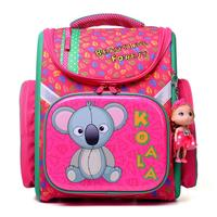 NEW 2017 Cartoon School Bag Girls Orthopedic Waterproof Backpack Children Satchel Elementary School Backpack For Boys