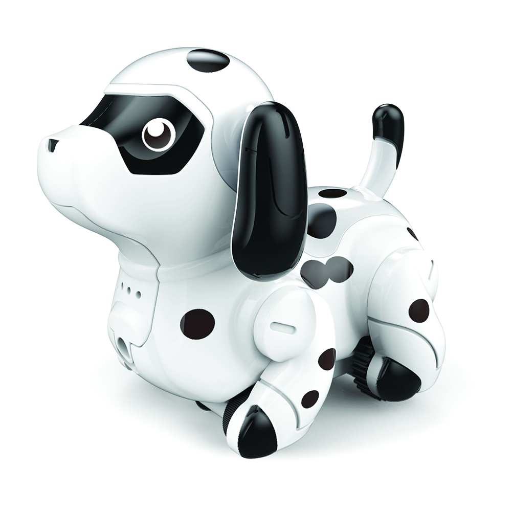 Smart Robotic Dog Follow Any Drawn Line Cute Funny Indoor Electric Children Toy Colors Changing Animals Inductive Puppy Model(China)