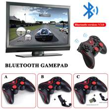 Genuine Original T3 Bluetooth Wireless Gamepad S600 STB S3VR Game Controller Joystick For Android IOS Mobile Phones PC Handle(China)