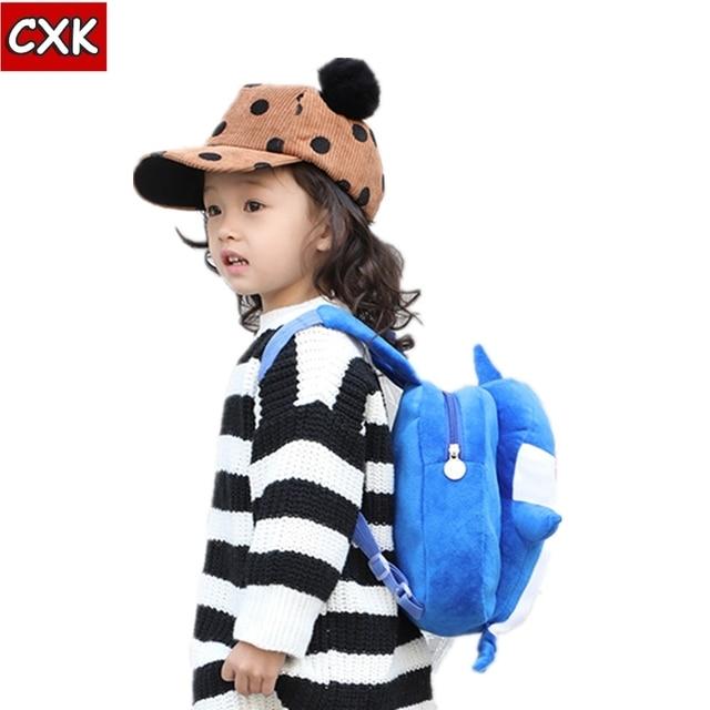Kawaii Baby плюшевая сумка игрушки рюкзак-Акула Милая животные мягкая набивная кукла сумка PP хлопок Рождественский подарок для ребенка подарок