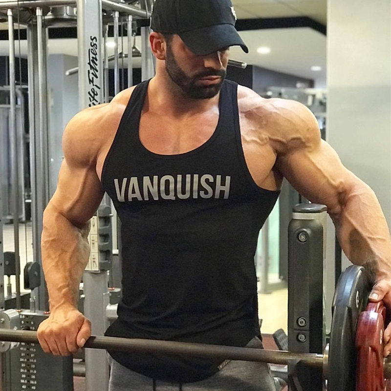 Mens Summer Fitness bodybuilding   Tank     Tops   Gyms Brand Clothing Jogger Workout Sleeveless Shirts Male Casual Cotton Sling Vest