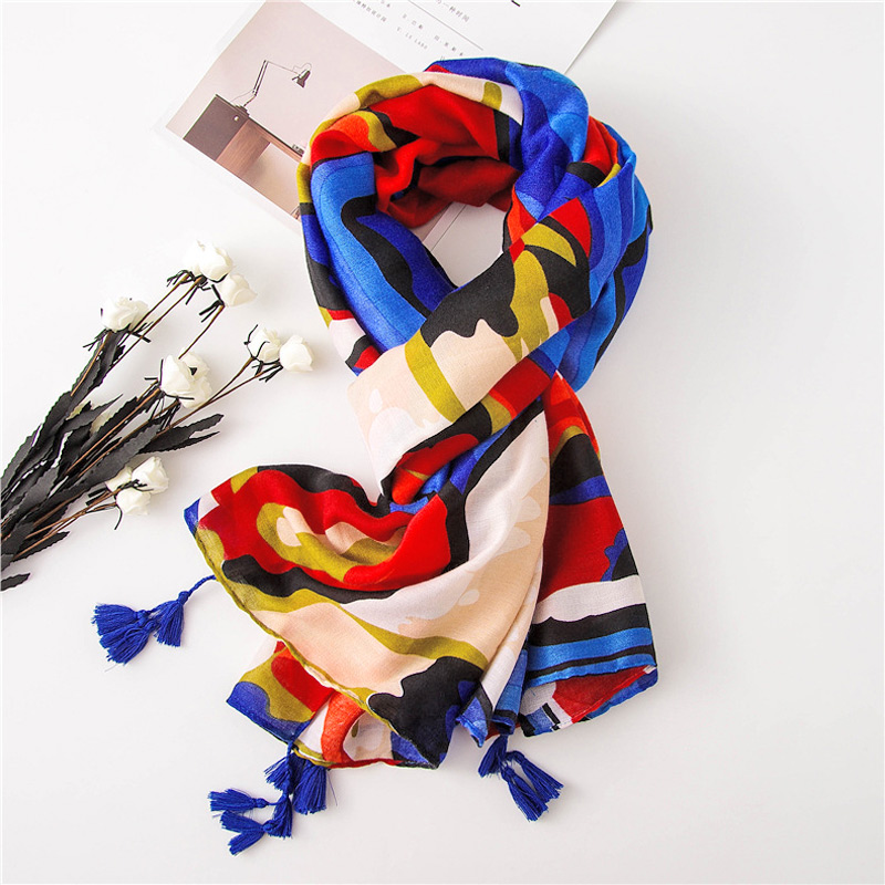 Bright Color Women Scarf Hot Fashion Warm Stole Large Winter Wrap Popular Tassels Scarves NEW [1974]