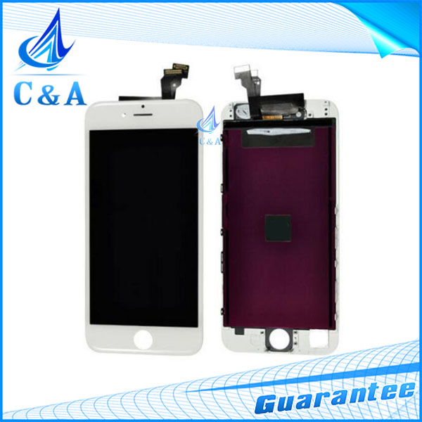 1 piece lot black white free shipping replacement part for iphone 6 6g lcd display with
