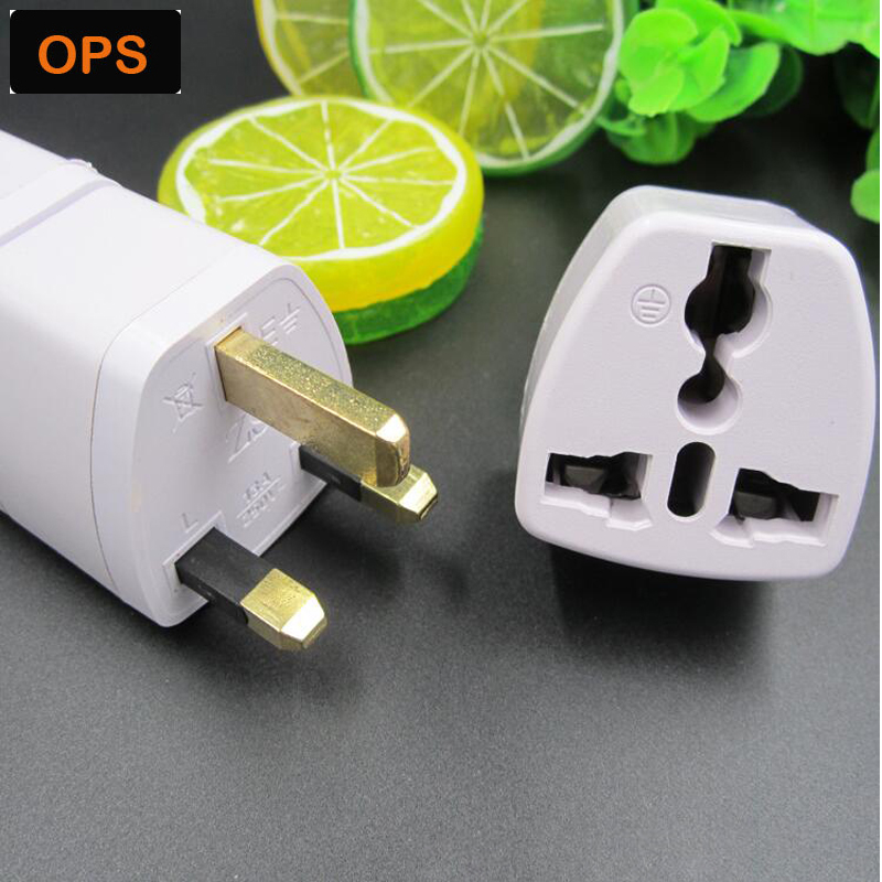 High Quality Universal Travel Adapter US EU AU to UK plug Adapter Converter Power Plug Adaptor Converter