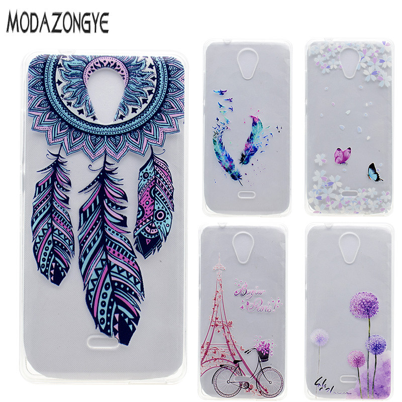 For Wiko U Feel Lite Case Coque 3D Flower Ultrathin Soft TPU Phone Case For  Wiko U Feel Lite Case Silicone Protective Back Cover 4b427302abf4