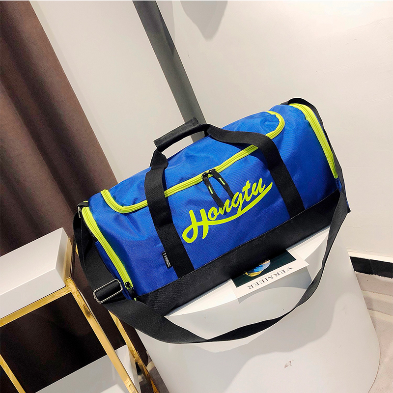 Shoes Sports-Bag Oxford-Cloth Personality-Sandbags Men's Clamshell Multi-Functional Wear-Resistant