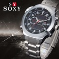 2017 SOXY Luxury Watch Fashion Full Steel Digital Watch Men Watch Military Sport Watches Hour Relogio Masculio Reloj Hombre
