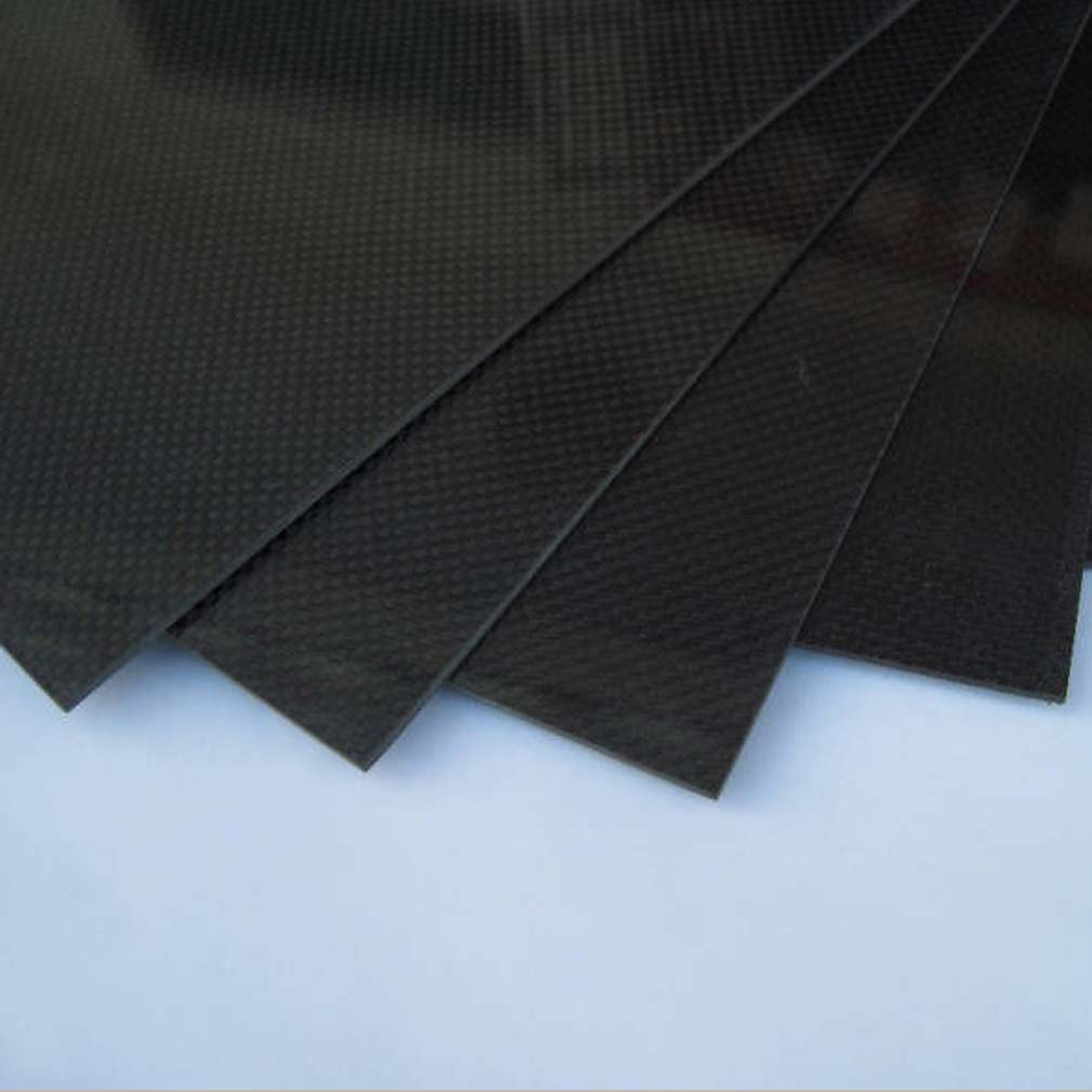 Hot! 1pcs 200*300*0.5mm With 100% Real Carbon Fiber plate/panel/sheet 3K plain weave Brand New Sale(China)