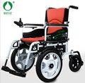 BZ-6301 Мода Красный электрический Сложить Легкий батарейках инвалидной коляске с хозяйственная сумка НОВЫЙ