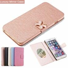 For Samsung J5 2017 Case PU Leather Mirror Flip Cover For Samsung Galaxy J5 2017 J530 J530F J530FM SM-J530F Phone Bags Cases чехол для samsung galaxy j5 2017 sm j530fm skinbox slim silicone case прозрачный
