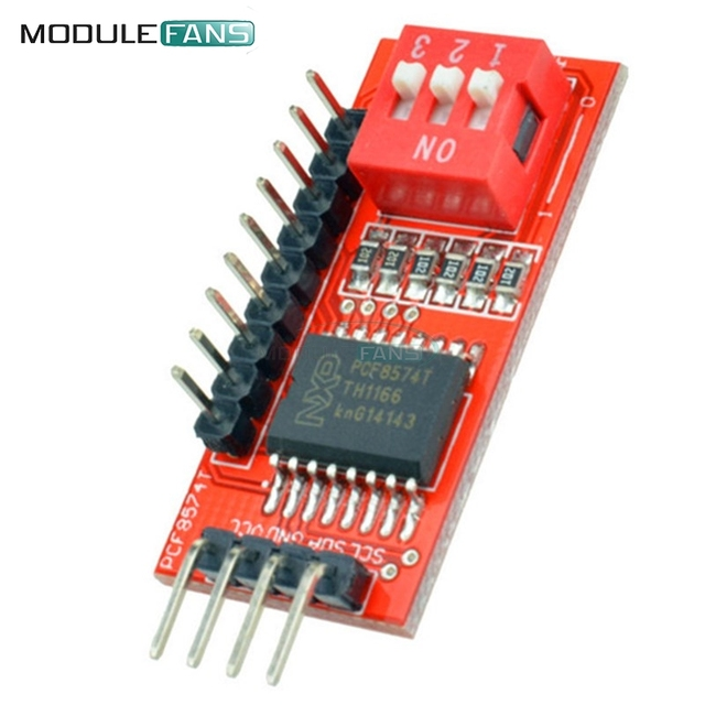 PCF8574 PCF8574T I/O For I2C IIC Port Interface Support Cascading Extended Module For Arduino Expansion Board High Low Level