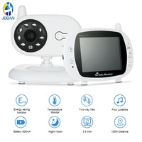 Babyphone Baby Monitor Wireless 3.5Inch LCD Screen Audio Video Baby Monitor Radio Nanny Music Intercom Portable Babyphone Camera