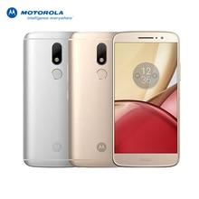 """Оригинальный Motorola Moto M XT1662 5.5 """"FHD helio P10 8-ядерный Android 6.0 4 г td LTE смартфон 4 ГБ Оперативная память 32 ГБ Встроенная память 16MP Touch ID"""