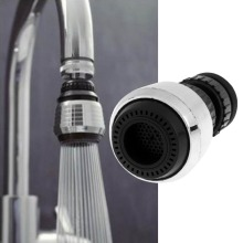Tap Kitchen Faucet Nozzle Aerator Swivel-Head Bathroom Water-Bubbler for 360-Rotary
